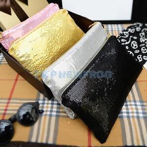 Image is loading New-Fashion-Women-Clutch-Dazzling-Sequins-Glitter-Handbag- d6e270ae5b6b