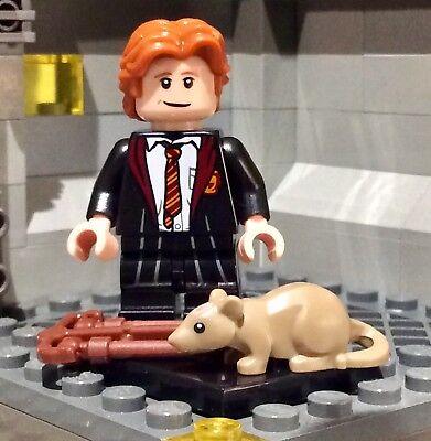 CREDENCE BAREBONE NEW Lego Harry Potter /& Fantastic Beast Minifigures