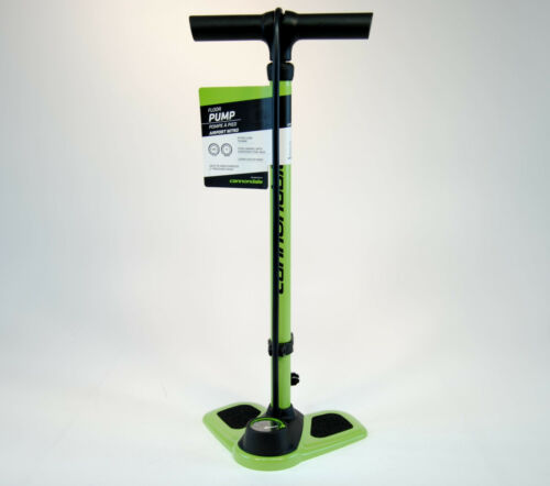 Cannondale Bicycle Floor Pump Airport Nitro Green//Black