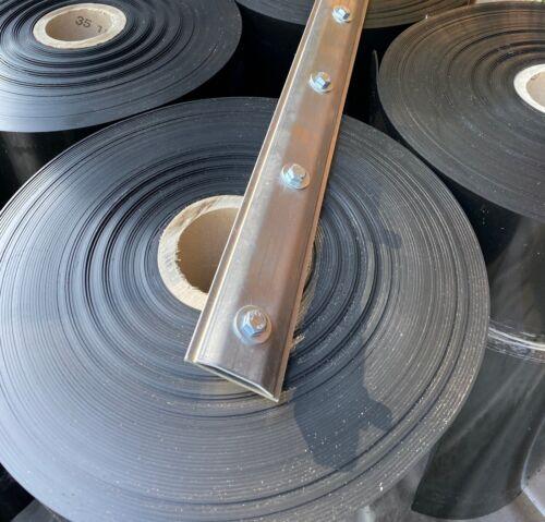 Rhizomsperre Wurzelsperre 2mm 12m x 70cm /& Verschlussschiene 6,34 €//m