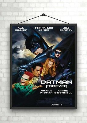 Batman Forever Vintage Movie Giant Poster A0 A1 A2 A3 A4 Sizes