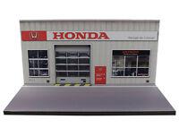 Diorama Honda - Garage Du Littoral - 3 Inch | 1/64ème - 3in-2-c-c-002