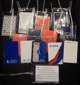 Luggage-tag-Delta-Air-Lines-w-playing-card-choose-from-multiple-designs