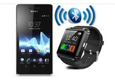 smartReloj Bluetooth Reloj de pulsera Sport para Sony HTC Samsung iPhone móvil