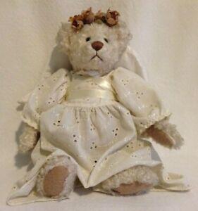 Ganz Retired Cottage Collectibles Gabearella Angel Teddy Bear By Lorraine Chien Ebay