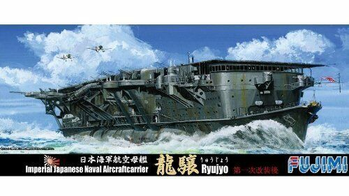 Plastic model by Fujimi 1//700 IJN Aircraft Carrier Ryujo After First Upgrade