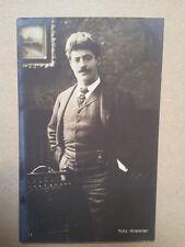 antique post card FRITZ KREISLER , Breitkopf & Haertel