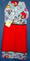 Angry Birds Easter Red Holiday Hanging Kitchen Fridge Hand Towel 1003