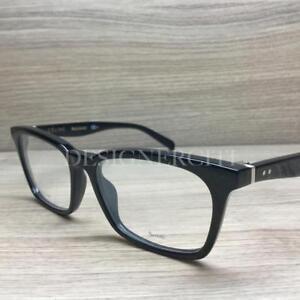 3857b0df38b7 Image is loading Celine-CL-41345-Eyeglasses-Shiny-Black-807-Authentic-