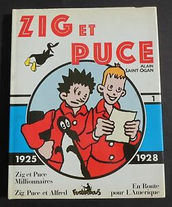 Collection-Copyright-ZIG-ET-PUCE-vol-1-SAINT-OGAN-1925-1928-Futuropolis-TB