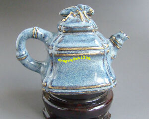 CHINESE Porcelain teapot (blue)