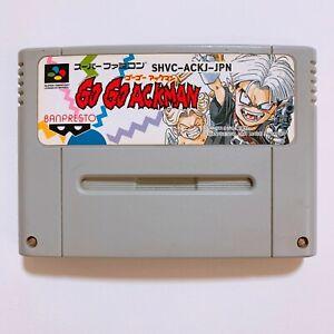 Go-Go-Ackman-Nintendo-Super-Famicom-SFC-SNES-Japan-game-tested-working