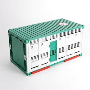 Bruder-Vieh-Container-gruen-weiss-fuer-z-B-MAN-02749-Scania-03549-03581-42752