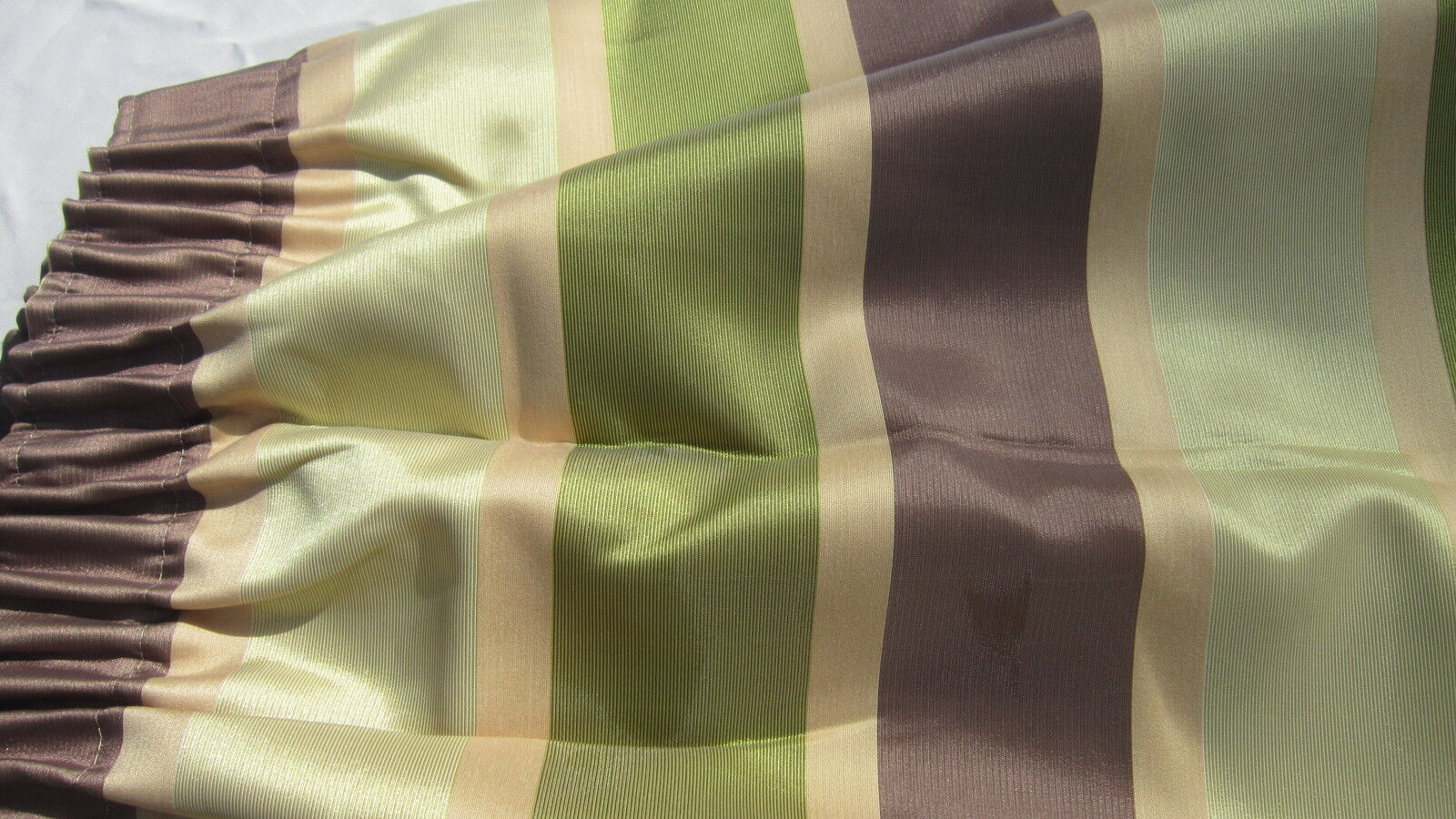 Pair lined silkmix quality curtains 52 in wide 54 54 54 inch drop weighted corners 14c723