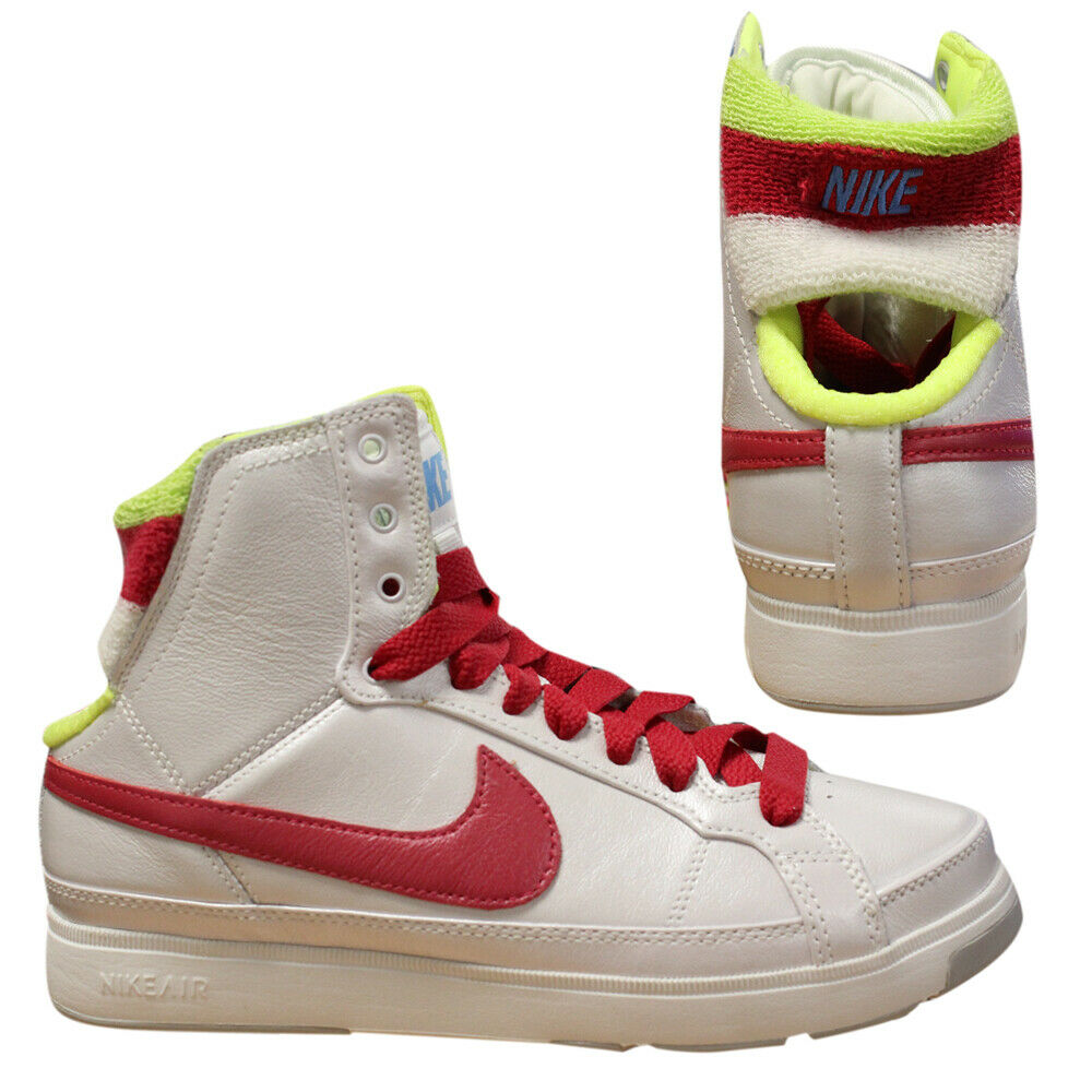Nike Air Troupe Mid SWT 2008 Womens Rare Vintage Lace Up Trainers 344307 161 D76