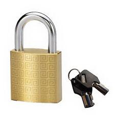 Lot Of 4 Tubular Padlock High Security 5mm Shakle Solid Brass Padlock Ka