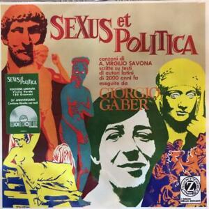 Giorgio Gaber - Sexus Et Politica (Rsd 2020)