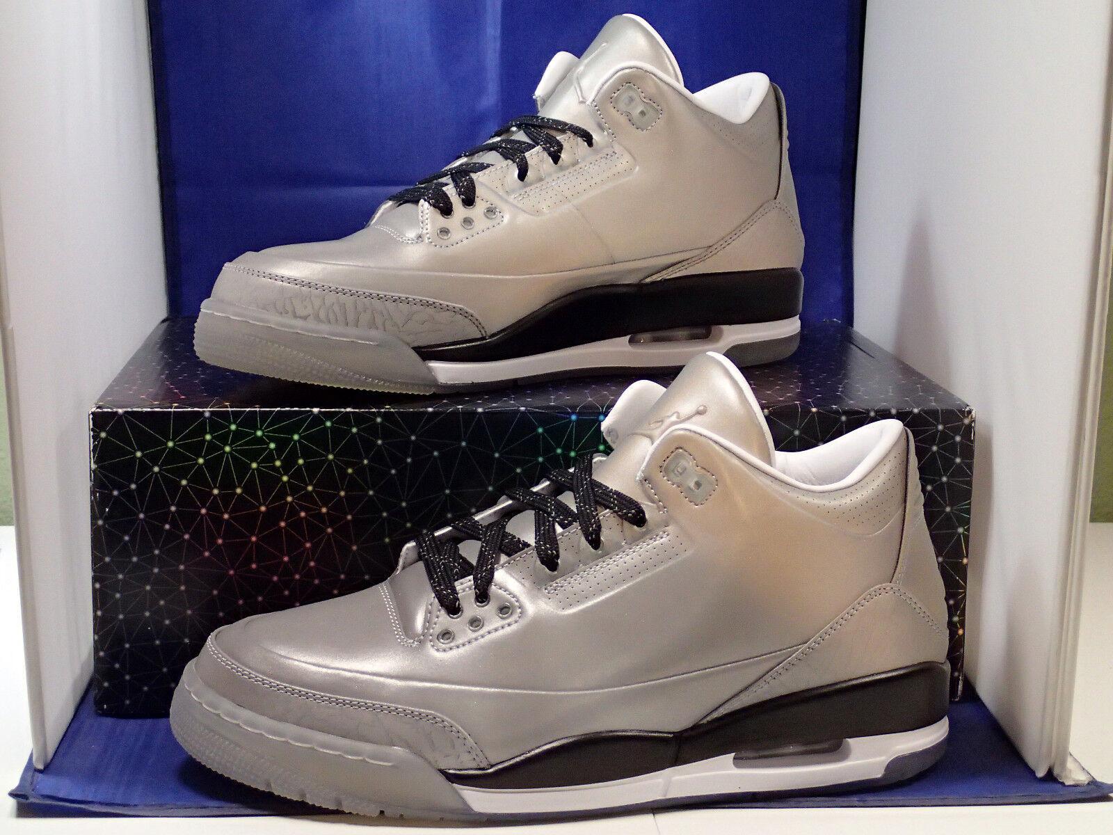 2014 Nike Air Jordan 5Lab3 Plata Reflejante Plata 5Lab3 3M Retro (631603-003) 31314f