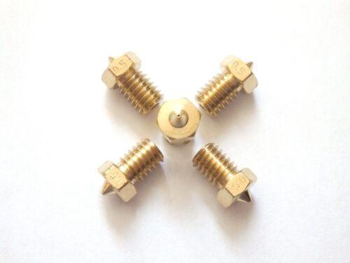 1.75mm 0.5 0.8mm 0.3 0.6 0.4 10X J-Head Boquilla de V6 0.2 0.25 Impresora 3d