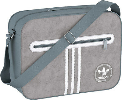 New Adidas Originals Suede Airliner Shoulder Messenger Bag school bag 3e63b6f516f35