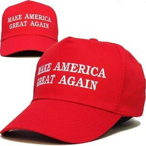 Make-America-Great-Again-Hat-Donald-Trump-2016-Republican-Adjustable-Cap-Red