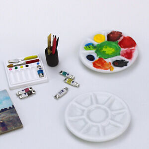 1-12-scale-Dollhouse-miniature-photography-props-pigments-ceramic-dish-gtPTAU