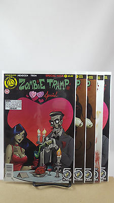 Zombie Tramp Halloween Special One Shot Cover A B C D E F Action Lab Comics 2016