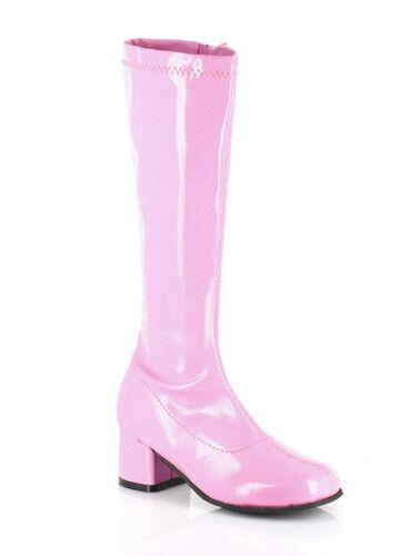 """Dora Girls Pink 1.75/"""" Go Go Boots"""