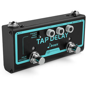 Donner-Guitar-Effect-Pedal-Tap-Delay-Analogue-Digital-Reverse-3-Delay-Modes