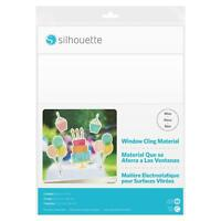Silhouette Printable White Window Cling Material