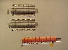 P&D Marsh N Spur N- Maßstab M73 überzogen förderband-einheit 130mm set erfordert