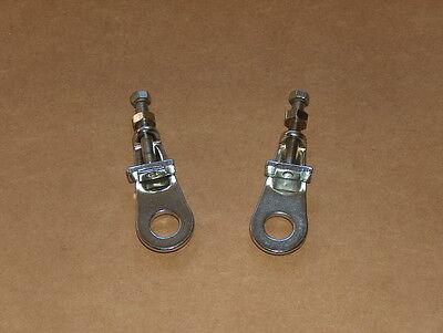 Ducati Single Wheel Chain Adjuster Set 250 350 450 NOS bevel