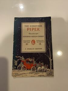 The-Christmas-Piper-1924-Houghton-Mifflin-Co-Promotional-Booklet
