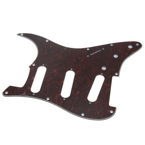 ST SSS Gitarren-Schlagbrett mit Schrauben für American Fender 62 Stratocaster