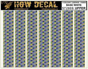 HGW 1/72-5 Color Lozenge Superior - Base Blanco A5 #572009