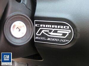 GM-LICENSED-2010-Chevrolet-Camaro-RS-Dash-Badge-Plaque