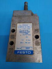 Used Festo Mfh 5 18 Solenoid Valve 9982 Mfh518 0891