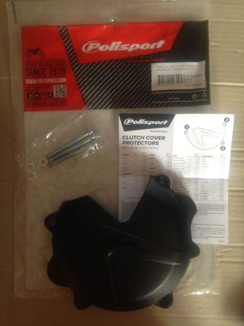 Polisport 8460500001 Clutch Cover Protector Black