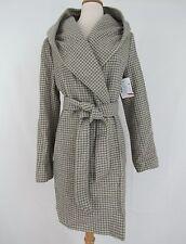 Lauren Ralph Lauren New Houndstooth Hooded Wrap Coat Size 10 MSRP $220 #L 205