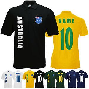 WM 2018 Australien AUSTRALIA T-Shirt Trikot Name Nummer Mini WM
