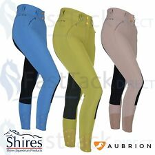 SHIRES NEBULAR BREECHESLadies Aubrion High Waisted Silicone Riding Breeches