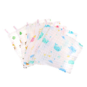 6-Layers-Baby-Cotton-Gauze-Baby-Face-Saliva-Towels-Wash-Cloth-Handkerchiefs-TLD