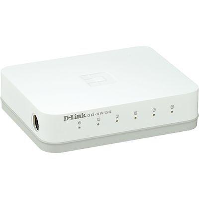 D-Link GO-SW-5G, Switch, weiß