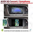 Audi 3G Symphony Concert CarPlay AirPlay MirrorLink GPS Reverse Cam Retrofit Kit