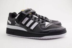 BY4155 Adidas Men Forum Lo black footwear white gold metallic