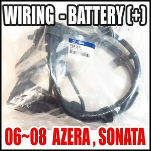 hyundai 06 08 azera sonata battery wiring assy cable 06 sonata battery wiring diagram #5