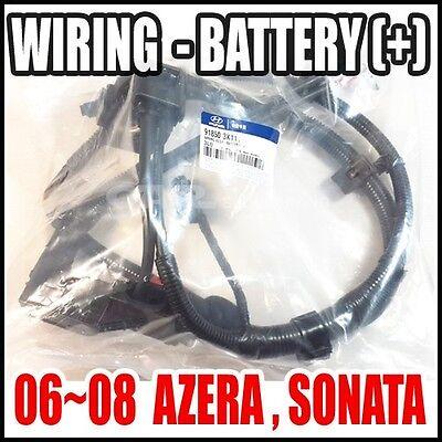 Battery Wiring Assy Cable Genuine  91850-3K111 + Sonata Hyundai 06-08 Azera