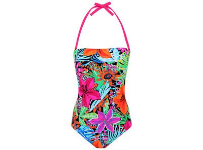 George Bodysculpt Print Bandeau 2 Swimsuits Size UK14EUR42 BNWT | eBay