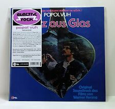 POPOL VUH Herz Aus Glas Soundtrack CLEAR TRANSPARENT VINYL LP Werner Herzog NEW