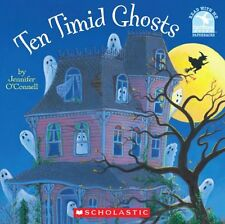 Read with Me: Ten Timid Ghosts by Jennifer O'Connell (2000, Paperback)